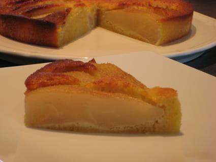 Gâteau poire-amande