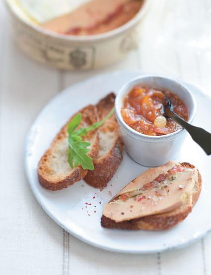 recette de terrine de foie gras aux figues et son chutney la recette facile. Black Bedroom Furniture Sets. Home Design Ideas