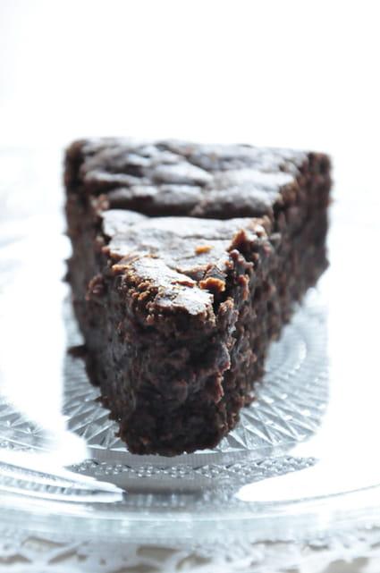 Moelleux au chocolat & Petit Beurre Lu