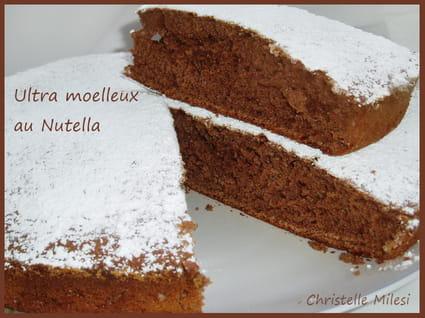 Ultra moelleux au Nutella