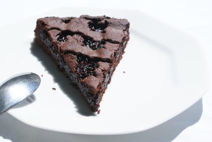 recette de tarte de linz au chocolat et confiture de m res la recette facile. Black Bedroom Furniture Sets. Home Design Ideas
