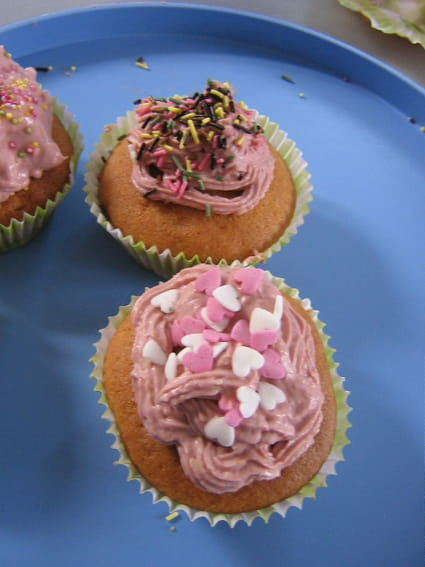 Recette de cupcake vanille au philadelphia la recette facile - Recette de cupcake facile ...