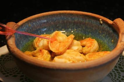 Recette de gambas au curry pour l 39 ap ro la recette facile - Cuisiner gambas surgelees ...