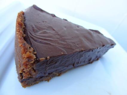 Tarte au chocolat façon danette