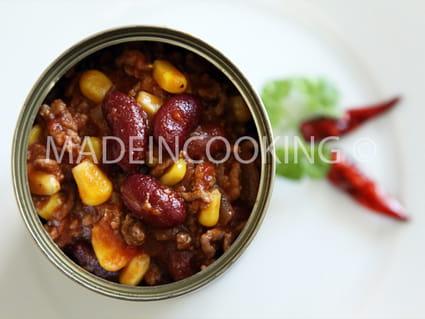 recette de chili con carne express la recette facile. Black Bedroom Furniture Sets. Home Design Ideas