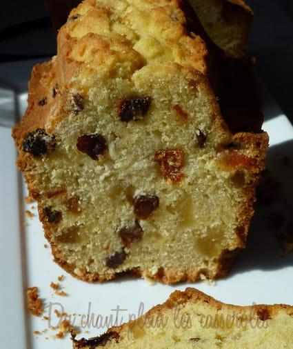 Recette Cake Anglais Fruits Confits