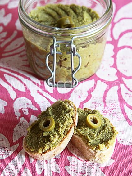 Tapenade aux olives vertes