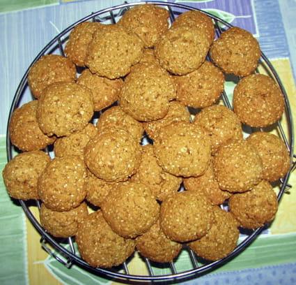 recette de sabl 233 s aux flocons d avoine et graines de s 233 same la recette facile