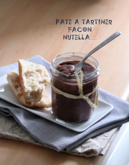 Recette de p te tartiner fa on nutella maison la - Nutella maison lait concentre ...