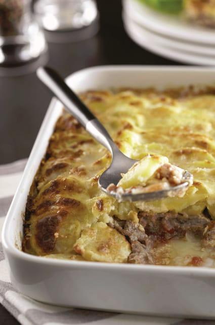 Recette de gratin de ratte du touquet veau et parmesan la recette facile - Cuisiner la ratte du touquet ...