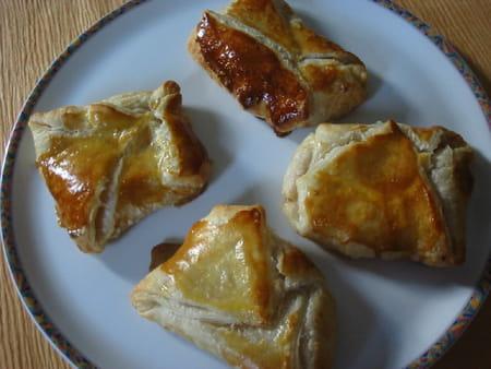 Feuillet s aux pommes la recette facile - Feuillete aux pommes caramelisees ...