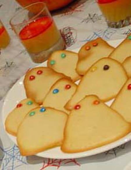 Biscuits fant mes d 39 halloween la recette facile - Recette gateau halloween facile ...