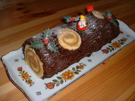 Le chocolat et les autres friandises : C'est bon pour le moral ! Buche-de-noel