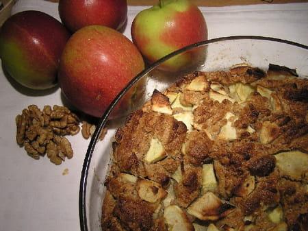 G teau aux pommes et aux noix la recette facile - Gateau aux noix et pommes ...