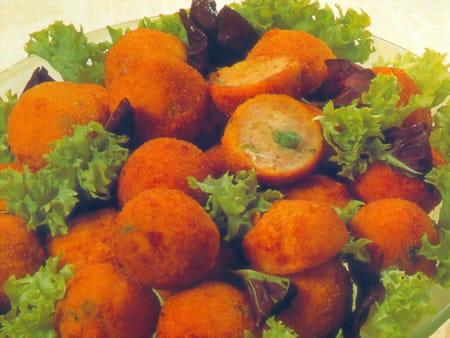 Boulettes mixtes aux petits pois la recette facile - Cuisiner petit pois en boite ...