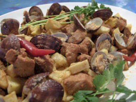 Filet mignon aux palourdes la recette facile for Cuisiner des palourdes