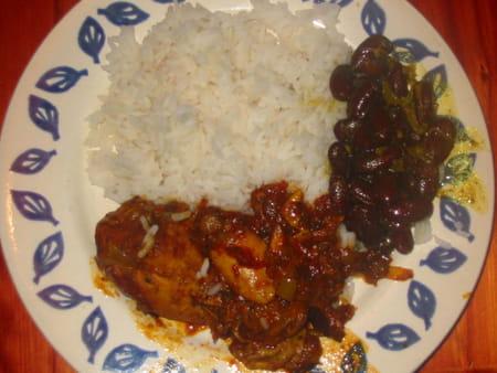 Cari poulet la recette facile - Cuisiner poulet entier ...