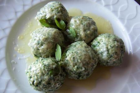 Gnocchis verts la recette facile - Cuisiner des gnocchis ...