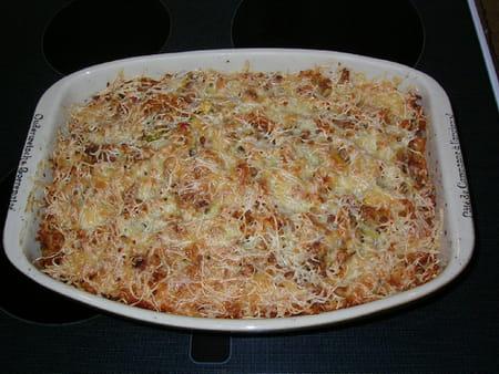 Gratin de macaroni aux tomates carottes et courgette la recette facile - Gratin de pates facile ...