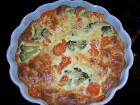 Flan de carottes et brocolis la recette facile - Cuisiner des brocolis frais ...