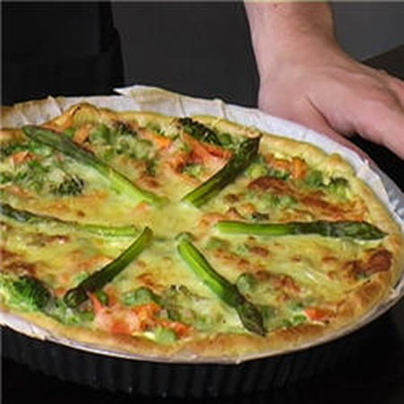 Tarte aux l gumes de saison la recette facile - Legumes faciles a cuisiner ...