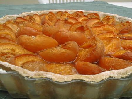 Tarte simplissime aux abricots la recette facile - Recette de tarte aux abricots ...
