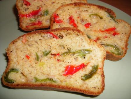 Recette Cake Thon Olive Poivron