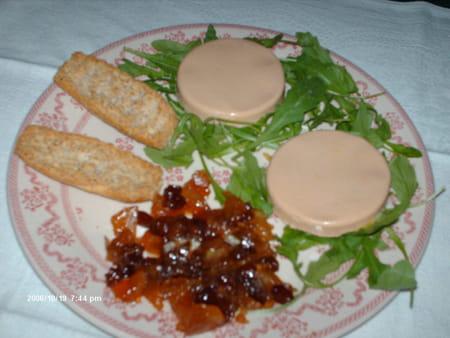 foie gras au chutney pomme raisin la recette facile. Black Bedroom Furniture Sets. Home Design Ideas