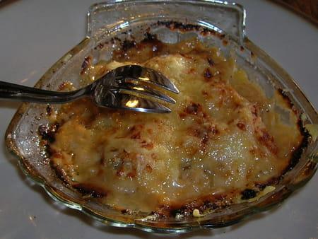 Saint jacques sur fondue de poireaux au chablis la - Recette de noix de st jacques sur lit de poireaux ...