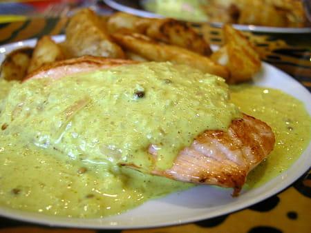 Pav de saumon au curry la recette facile - Comment cuisiner pave de saumon ...