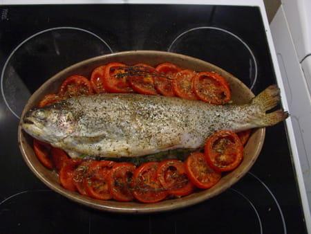 truite de mer aux tomates la recette facile