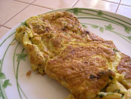 Omelette aux asperges la recette facile - Cuisiner des asperges fraiches ...