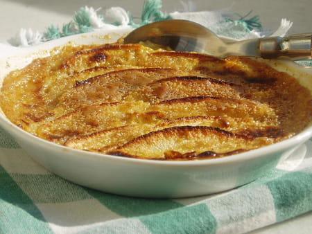 Crème brulée pomme-cannelle