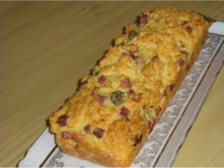 cake aux olives et au jambon la recette facile. Black Bedroom Furniture Sets. Home Design Ideas