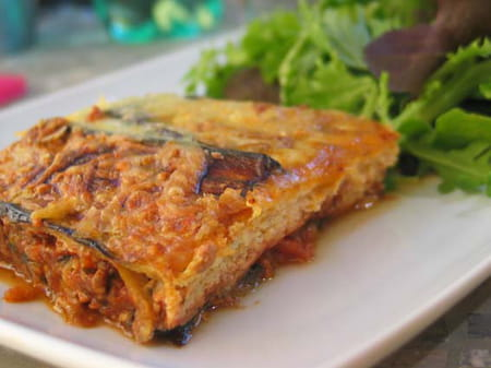 Moussaka l g re la recette facile for Entree legere facile