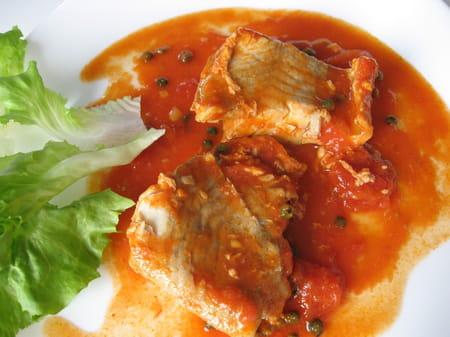 Filets de lieu noir sauce tomate et poivre vert la - Cuisiner filet de lieu noir ...