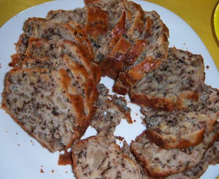 Cake Roquefort Noix Avec Creme Fraiche