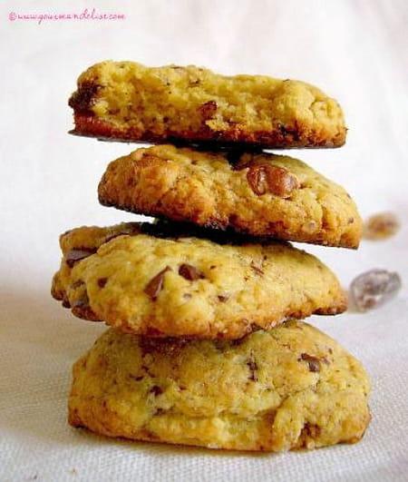 Cookies moelleux chocolat et noix de p can la recette facile - Recette cookies chocolat moelleux ...