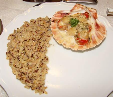 Coquilles saint jacques la proven ale la recette facile - Cuisiner des coquilles saint jacques ...