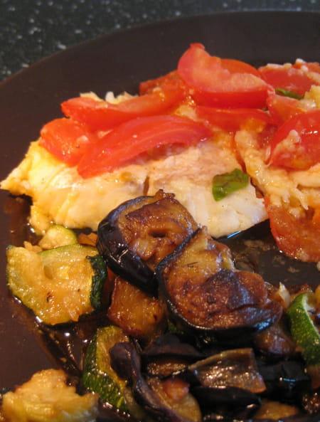 Cabillaud aux aubergines confites la recette facile - Cuisiner l aubergine facile ...