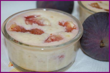 Cr me d 39 amandes aux figues fra ches la recette facile - Cuisiner des figues fraiches ...