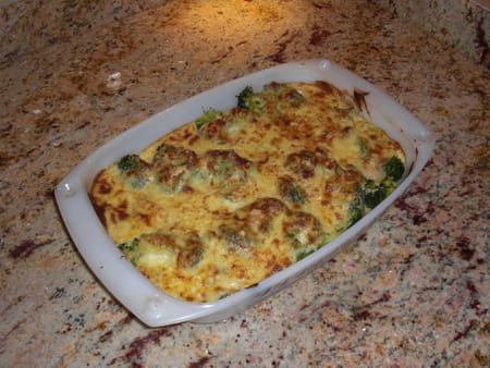 Gratin de brocolis la recette facile - Cuisiner des brocolis ...