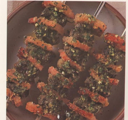 Escargots en brochettes la recette facile for Entree barbecue facile