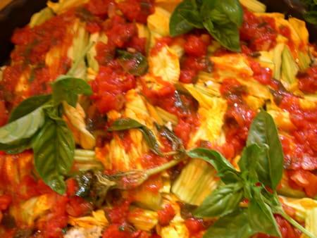 Fleurs de courgettes farcies v g tariennes la recette facile - Fleurs de courgettes farcies ...