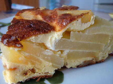 frittata aux pommes de terre et au fromage la recette facile. Black Bedroom Furniture Sets. Home Design Ideas