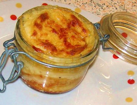 Croque monsieur en verrines la recette facile - Recette croque monsieur four ...
