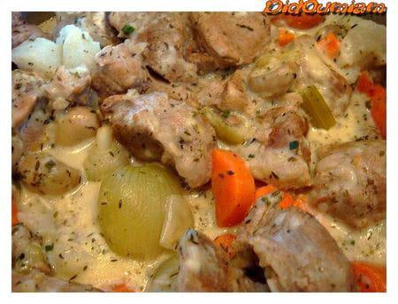 Blanquette de veau l ancienne la recette facile - Cuisiner la blanquette de veau ...