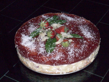 Charlotte aux fraises revisit e la recette facile - Jeux de charlotte aux fraises cuisine gateaux ...