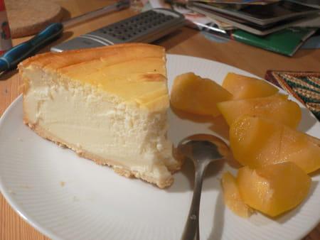 Cheesecake aux mirabelles la recette facile - Recette avec des mirabelles ...