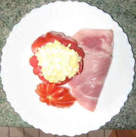 Tomate coeur de boeuf farcie la recette facile - Cuisiner le coeur de boeuf ...